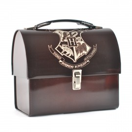 Tin Tote Domed Harry Potter Hogwarts Crest