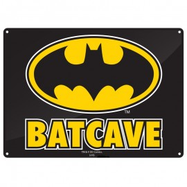 Tin Sign Small - Batman (Batcave)