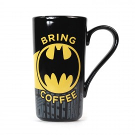 Mug Latte Boxed - Batman Bring Coffee