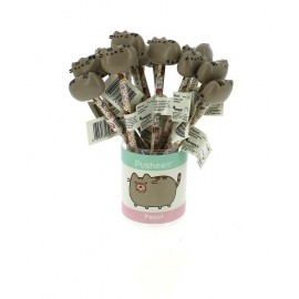 Display 24 Lapices Con Topper Pusheen