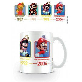 Taza Mug Super Mario Dates