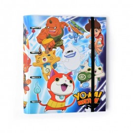 Carpeta 4 Anillas Troquelada Yo-Kai Watch