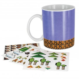 Taza Mug Super Mario Bros Build A Level