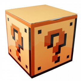 Tin Storage Box Super Mario Bros Question Block