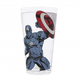 Glass Colour Changing Marvel Avengers Captain America
