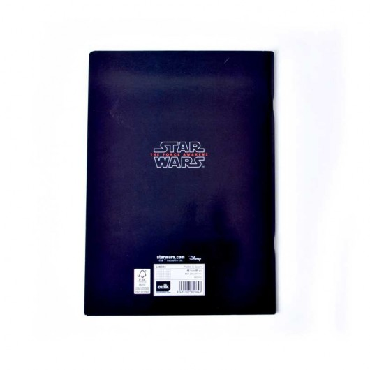 Libreta Grapa A4 Star Wars VII