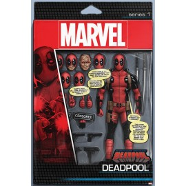 Poster Deadpool Action Figure