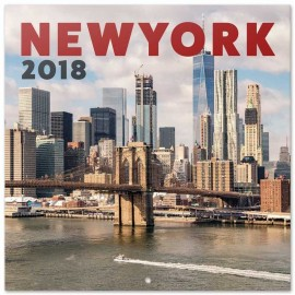 Calendario 2018 30X30 New York Color