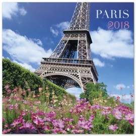 Calendario 2018 30X30 Paris Color