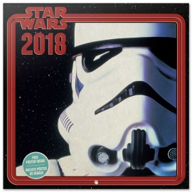 Calendario 2018 30X30 Star Wars Stormtrooper