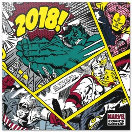 Calendario 2018 30X30 Marvel Comics