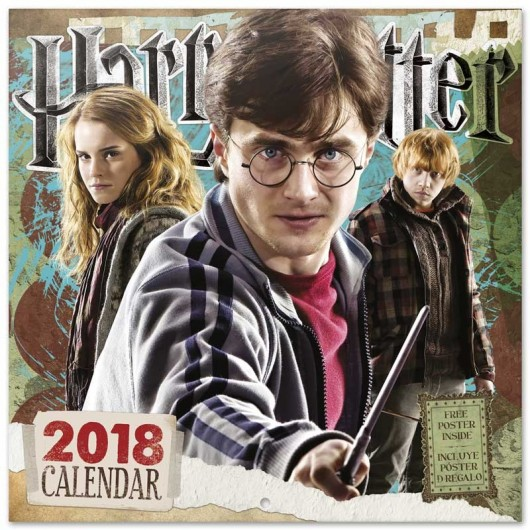 Calendario 2018 30X30 Harry Potter
