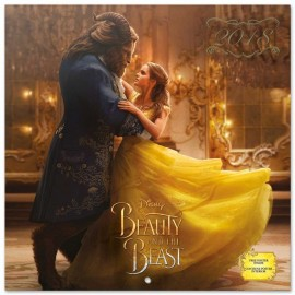 Calendario 2018 30X30 The Beauty & The Beast Movie