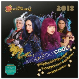 Calendario 2018 30X30 The Descendants 2