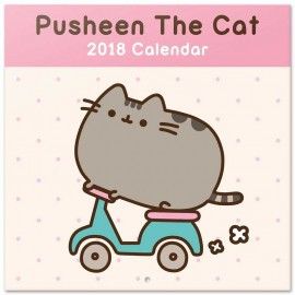Calendario 2018 30X30 Pusheen The Cat