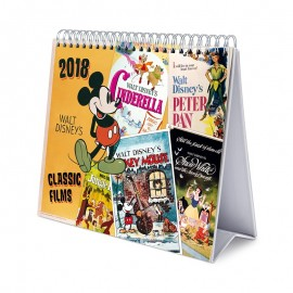 Calendario Sobremesa Deluxe 2018 Disney Adulto