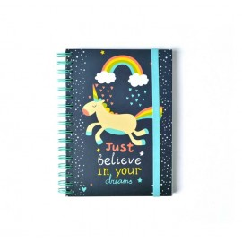 Notebook Premium Wire-O A5 Be Happy