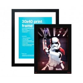 Print Enmarcado 30X40 cm Star Wars VIII Executioner Trooper