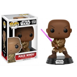 Pop Bobble Star Wars Mace Windu Exc