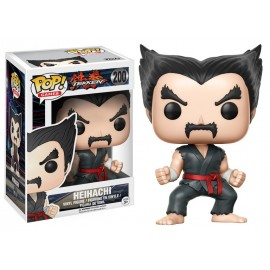 Pop Vinyl Games Tekken Heihachi Black & Red Judo Exc