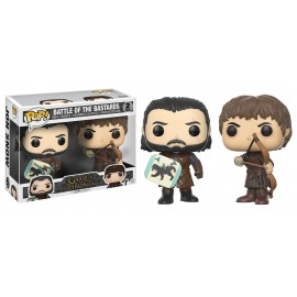 Pop Vinyl 2 Pack Game Of Thrones Botb Ramsay Bolton And Jon Snow