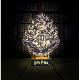 Light Hogwarts Crest