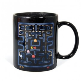 Taza Mug Heat Change Pac Man