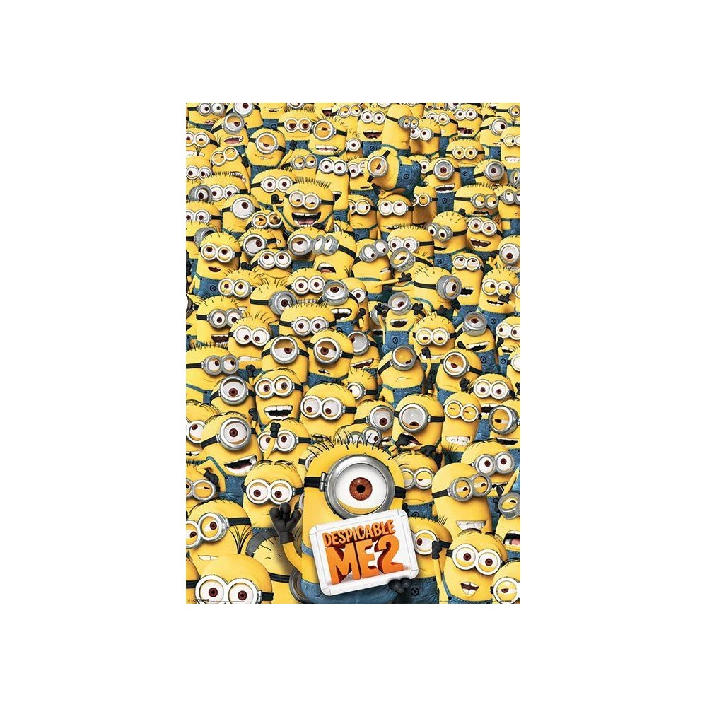 Despicable Me Minions Posters Despicable Me 2 Minions Poster