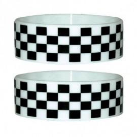 Pulsera Silicona Checkers