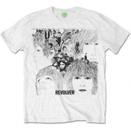 Camiseta The Beatles - Mens Revolver Album