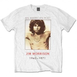 Camiseta David The Doors American Poet
