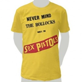 Camiseta Sex Pistols-Bollocks