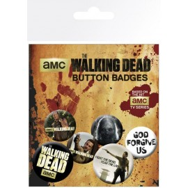 Pack De Chapas The Walking Dead