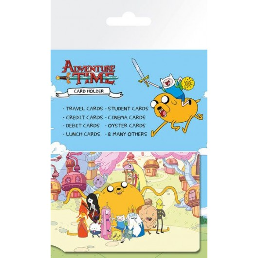 Tarjetero Adventure Time Group