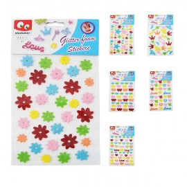 Slammer Sticker Sheet Glitter Xxl