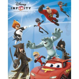 Mini Poster Infinity Game Disney