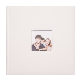 ALBUM FOTO TRADICIONAL 29X29CM 100 PAGINAS OFF WHITE 11