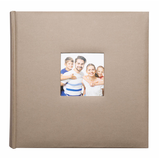 ALBUM FOTO TRADICIONAL 29X29CM 100 PAGINAS LIGHT GRAY 67