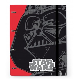 Carpeta 4 Anillas Troquelada Star Wars