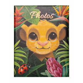 ALBUM FOTO 100 BOLSILLOS 10X15CM DISNEY LION KING NATURE