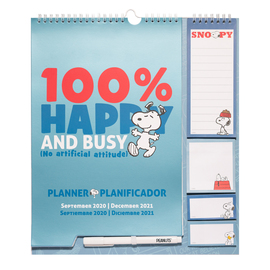 PLANNER 2020/2021 SNOOPY