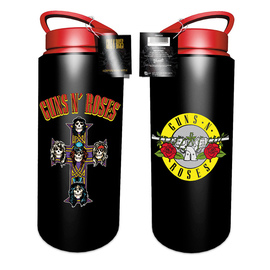 BOTELLA GUNS N ROSES LOGO