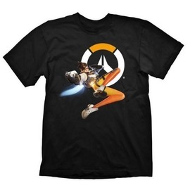 CAMISETA OVERWATCH TRACER HERO L