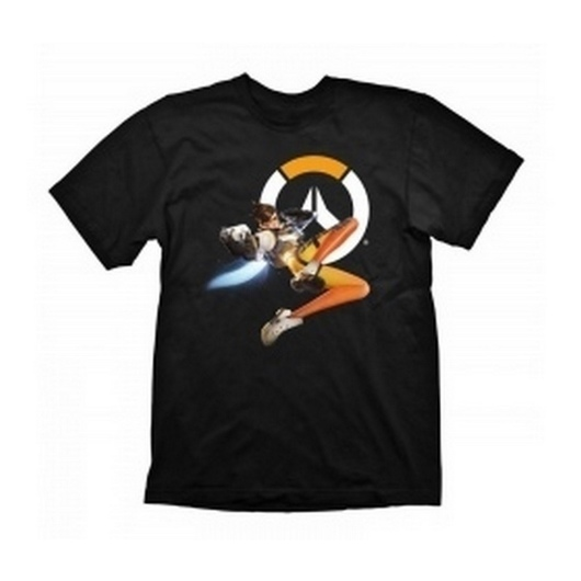 CAMISETA OVERWATCH TRACER HERO S