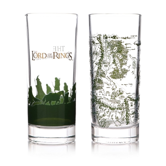 VASOS SET DE 2 THE LORD OF THE RINGS