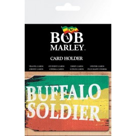 Card holder Bob Marley Buffalo Soldier