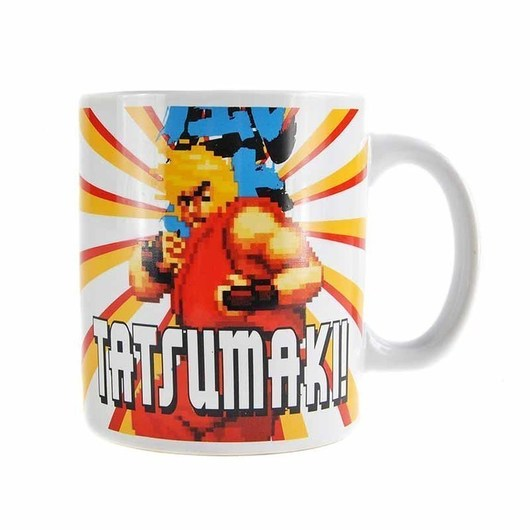 TAZA STREET FIGHTER KEN