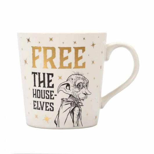TAZA HARRY POTTER DOBBY FREE THE HOUSE ELFS