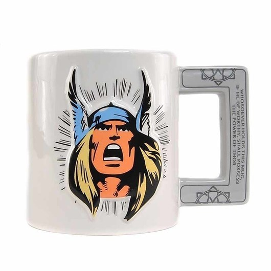 TAZA EMBOSSED MARVEL THOR