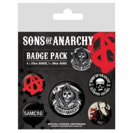 Pack De Chapa Sons Of Anarchy